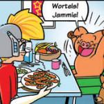 Strip 'Okki' voor het gelijknamige kinderblad