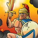Illustratie voor een kaartspel van 999 Games i.s.m. Tekenteam